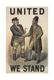 United We Stand' Digitálně vytištěná reprodukce