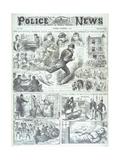 The Whitechapel Monster Giclee Print