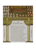 Chapel Of the Foundling Hospital. Illustration From London Town' Giclee Print by Thomas Crane