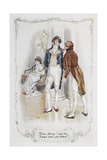 Come Darcy, I Must Have You Dance. Illustration To 'Pride and Prejudice' Giclee Print by Charles Edmund Brock