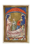 After St. Cuthbert's Election To the Bishopric Giclee Print by  Bede