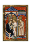 The Curing Of Abbess Aelflaed Giclee Print
