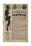 Drogan's Mayonaise Sandwich Giclee Print by Alf Bryan