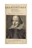 William Shakespeare Giclee Print by  Droeshout