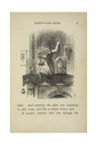 Alice Looking at the Mirror Giclee Print by John Tenniel