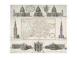 London Churches Giclee Print