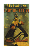A Lady Detective Giclee Print