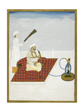 Abu Zafar Siraj Al-Din Muhammad (Later Bahadur Shah II Giclee Print by Ghulam Murtaza Khan
