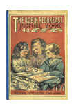 Front Cover With Three Children Reading a Book Giclee Print