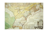 British Colonies in North America Giclee Print