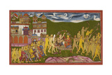 Ramayana, Kishkindha Kanda Giclee Print