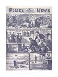 Murder at George's Yard Giclee Print