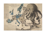 Serio-Comic War Map Giclee Print