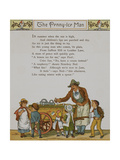 The Penny Ice-man. a Seller Of Iced Fruit Confectionery. Illustration From London Town' Giclee Print by Thomas Crane