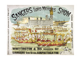 Sanger's Grand National Amphitheatre Giclee Print by Henry Evanion