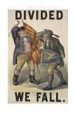 Divided We Fall' Digitálně vytištěná reprodukce