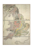 First Geological Map Giclee Print