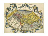 Ptolemic World Map Giclee Print by Claudius Ptolemy