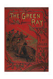 the Green Ray Giclee Print by Jules Verne