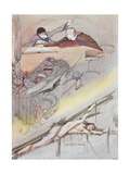 House Of Usher Giclee Print by Harry Clarke