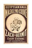 Zach the Hermit Giclee Print by Henry Evanion