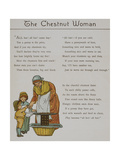 The Chestnut Woman. a Woman Selling Chestnuts To Two Children. Illustration From 'London Town' Giclee Print by Thomas Crane