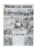 Seventh Ripper Murder Giclee Print