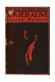 Front Cover Of Buried Alive Giclee Print by Arnold Bennett