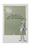 The Tin Woodman Giclee Print by William Denslow