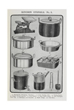 Kitchen Utensils Giclee Print by Isabella Beeton