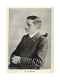 H.G.Wells Impression giclée