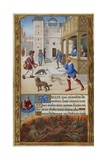 The Tilliot Hours Giclee Print by Jean Poyer