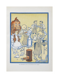 "The Tinsmiths Worked For Three Days and Four Nights"" Giclee Print by William Denslow"