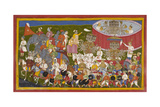 Ravana and His Troops Giclee Print by Sahib Din