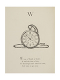 Watch Illustrations and Verses From Nonsense Alphabets Drawn and Written by Edward Lear. Giclee Print by Edward Lear
