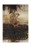 Arthur Rackham - The Wind in the Willows - Giclee Baskı