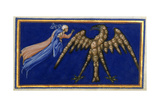 Dante and Beatrice Before the Eagle Of Justice Giclee Print by Dante Alighieri