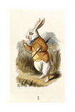 The White Rabbit Giclee Print by John Teniel