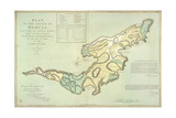 The Island Of Bequia Impressão giclée
