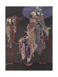 Monas and Una Gicléetryck av Harry Clarke