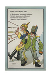 A Caricature Of Wilhelm II and Franz-Josef Giclee Print