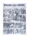 Six Whitechapel Murders Giclee Print
