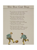 The Blue-coat Boys. Two Boys Playing With a Ball. Illustration From London Town'. Giclee Print by Thomas Crane