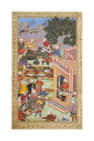 Banquet Being Prepared For Babur and the Mirzas (1506) (Banwari Kalan) Giclee Print by Banwari Kalan