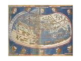 World Map Giclee Print