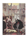 Man Of the Crowd Gicleetryck av Harry Clarke