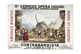 St. George's Opera House Giclee Print by Henry Evanion