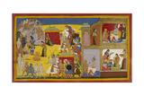 Rama Repudiates Sita Giclee Print