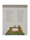 Westminster Abbey. a Tomb. Illustration From London Town' Giclee Print by Thomas Crane