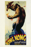King Kong Movie Fay Wray 1933 Poster Print Print